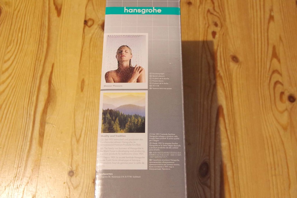Mitigeur Hansgrohe Ecostat 1001 CL - Packaging (01)