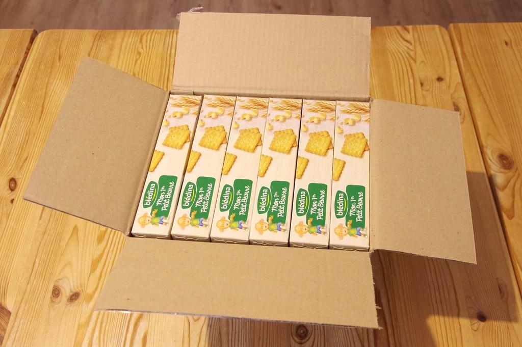 Blédina Mon 1er Petit Beurre - Lot de 12 paquets
