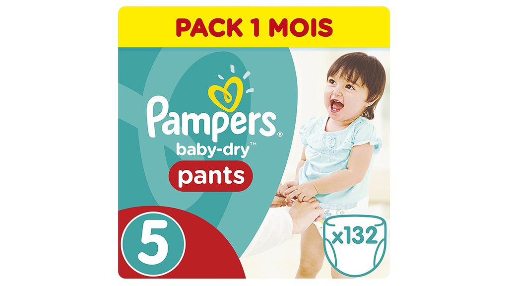 Test des couches-culottes Pampers Baby Dry Pants