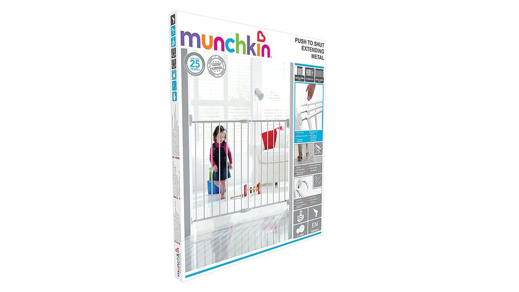 Test d'une barrière de sécurité pour enfant Munchkin