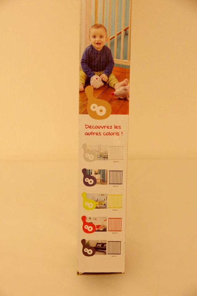 Packaging de la barrière de sécurité Badabulle