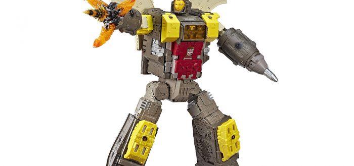 Test d'un robot Transformers Omega Supreme (2019)