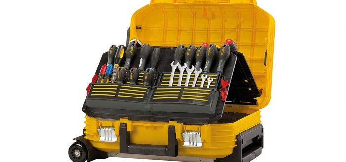 Review de la valise de maintenance Stanley Fatmax FMST1-72383