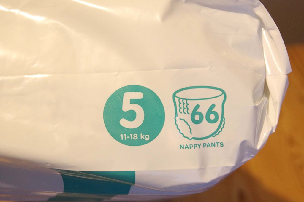 Pampers Baby Dry - 132 couches pour bébés