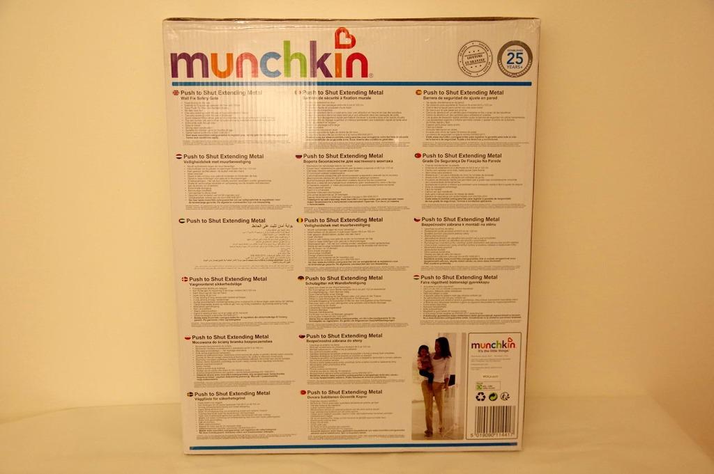 Packaging arrière de la barrière Munchkin